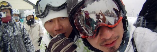 2011 1.22~29 滑板基地六山團-志賀高原