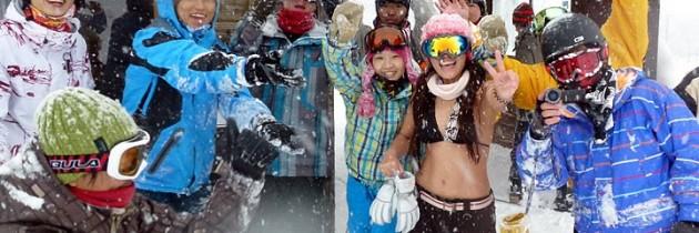 2011 1.11~15 滑板基地初雪團-栂池高原