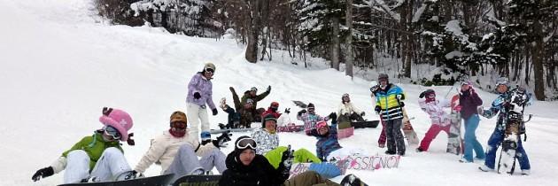 2011/12/15~19 滑板基地海賊CAMP滑雪團