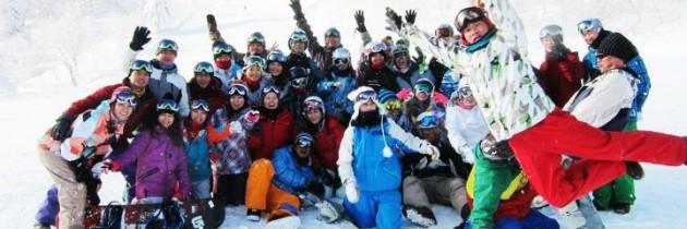 2012/1/12~16 滑板基地海賊CAMP滑雪團